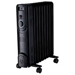 Масляный радиатор Supra ORS-09-S2 black